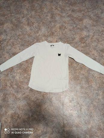 Белый свитер для девочки