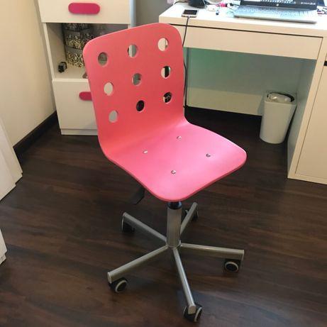 Krzesło obrotowe dziewczęce