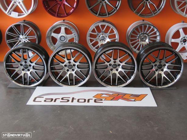 """Jantes SAS ADV8 20 """" 8.5 et35 + 10 et35 5x112 Mercedes / Audi"""