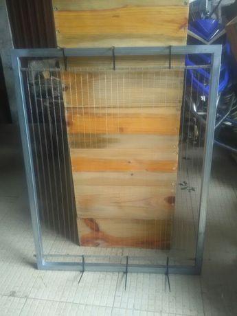 Harpas em galvanizado vespa asiática