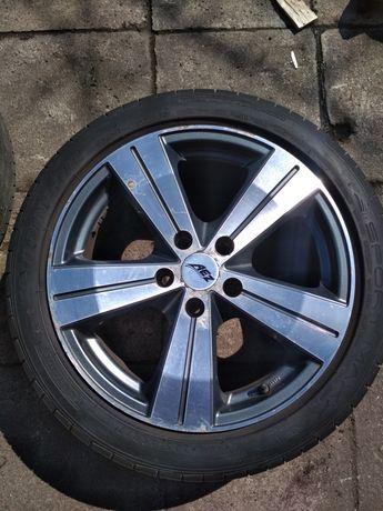 Felgi AEZ Ultra 5x114,3 Dunlop Sport Maxx 225/45/17
