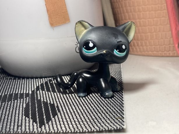 Lps littlest pet shop little pet shop collie pop shorthair dog jamnik