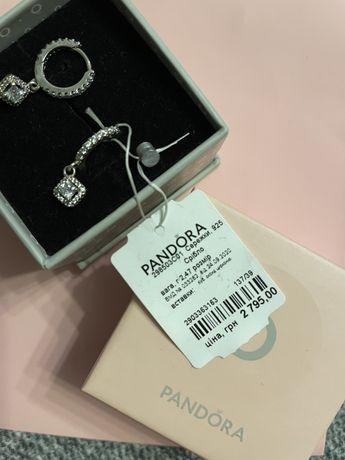 Сережки Pandora