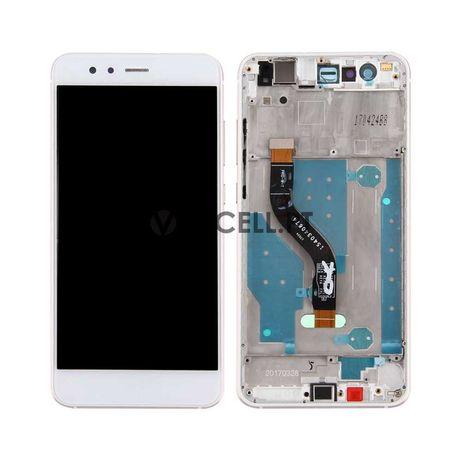 Ecra (LCD + Touch) com Frame para HUAWEI P10 Lite - Branco
