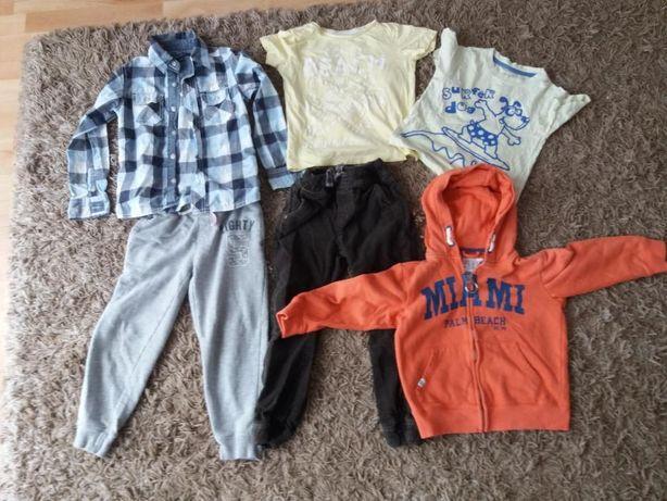 Ubrania dla chłopca rozmiar 116