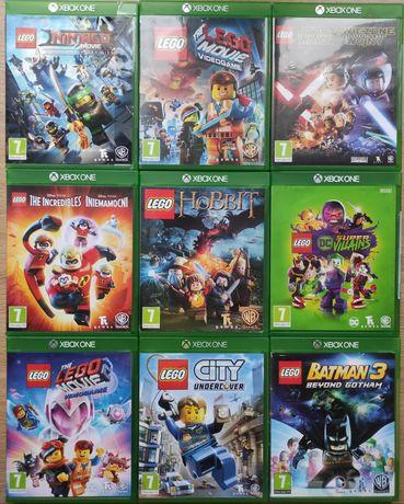 Gry Xbox one LEGO Batman Iniemamocni Przygoda Ninjago City Star Wars