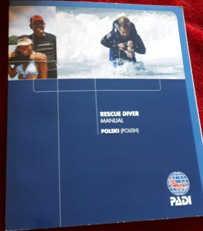 Rescue diver Manual polska wersja językowa