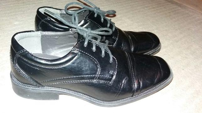 Buty chłopięce komunijne eleganckie wyjściowe do garnituru 37