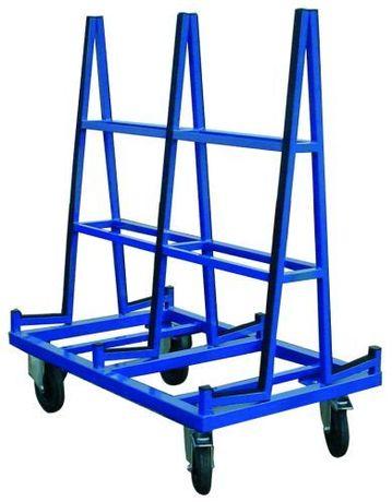 Carrinho porta madeiras e vidros capacidade 600 kg 1500 mm compriment
