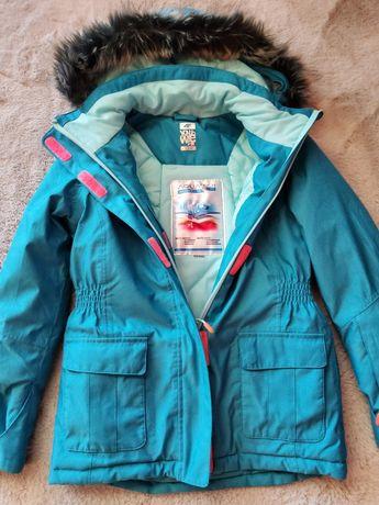 Kurtka narciarska 4f dziecięca dziewczęca, rozmiar 134, membrana 5000