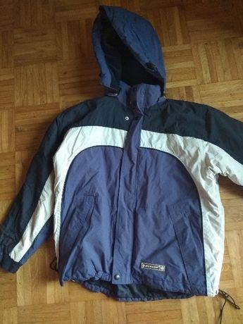 profesjonalna, granatowa kurtka narciarska, Dunlop - rozmiar 164cm