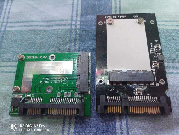 """Адаптер SSD(mSATA SSD - 2,5 """"SATA6.0Gbps)"""