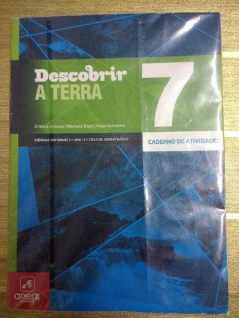 """Caderno de Atividades Ciências Naturais 7º ano """"Descobrir a Terra"""""""
