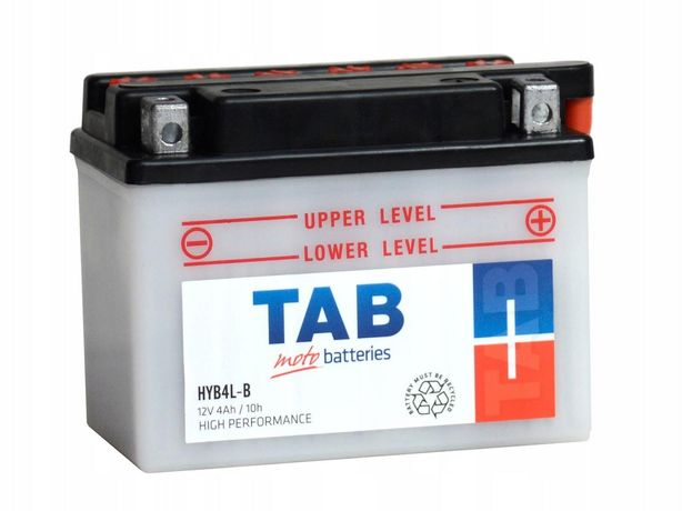 Akumulator motocyklowy Tab 12V/4Ah Yb4l-b