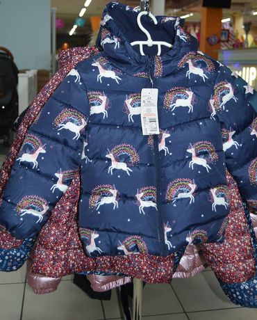 Куртка парка осінь зима zara hm c&a