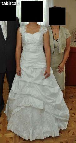suknia sukienka ślubna MAGGIE MSMODA 36-38 BUTY !!GRATIS!!