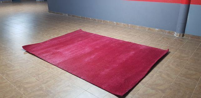 Carpetes de Sala Pelo curto (2)  1 Vermelha escura   Vermelha e Branca