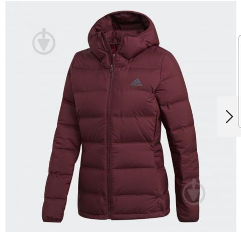 Пуховик, куртка Adidas