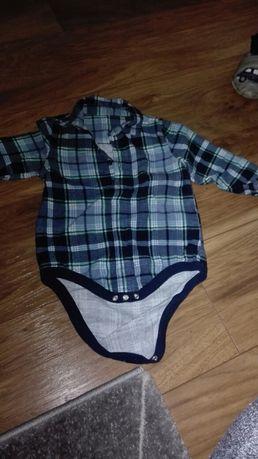 Koszula flanelowa rozmiar 74