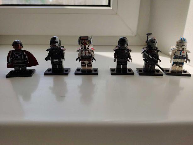 Лего аналог минифигурки Star Wars.