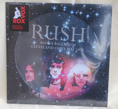 RUSH*Agora Ballroom,Cliveland Ohio 16TH May 1975/LP Picture LP Nowa