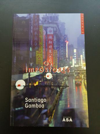 Livro Os Impostores Santiago Gamboa
