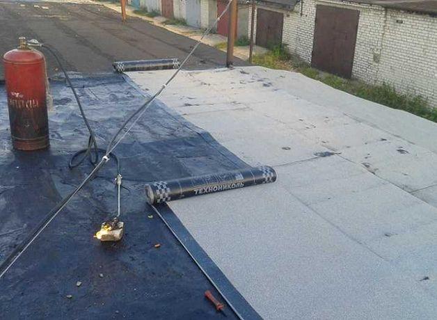 Ремонт и замена крыши. Устранение протеканий, сырости.