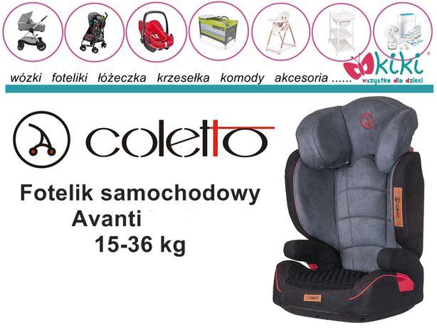 Fotelik samochodowy Coletto Avanti 15-36 kg