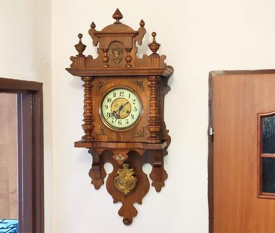 Junghans, potężny, zegar wiszący, ślązak