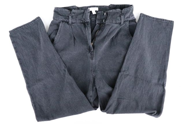 Damskie spodnie jeansowe H&M r 40, L , 12, 170/76A wysoki stan