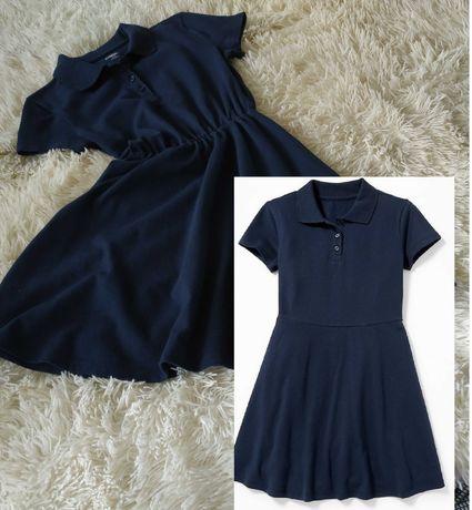 Платье поло школьная форма Old Navy размер 8(М)