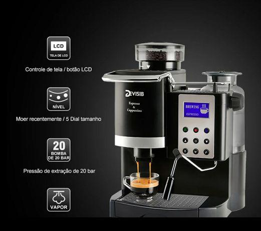 Máquina de café expresso & cappuccino NOVA (Com moinho integrado)