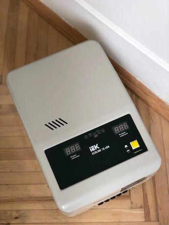 Продам в идеальном состоянии стабилизатор напряжения IEK Ecoline 10кВт