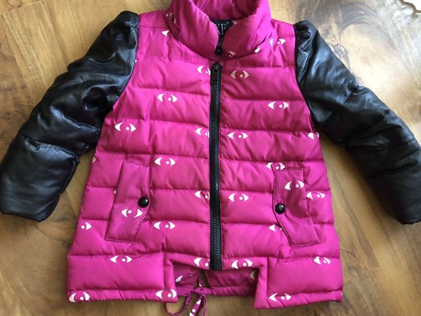 Осіння зимова курточка на дівчинку