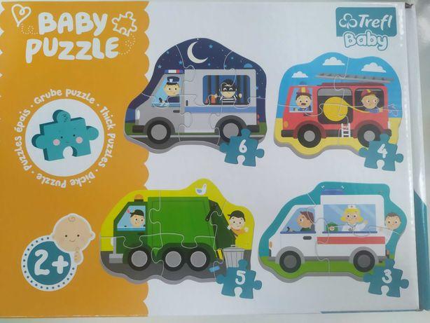 Puzzle trefl baby 2 lata
