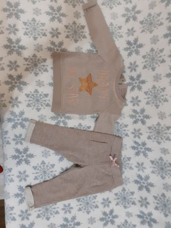 Dres i spodnie roz. 9-12m