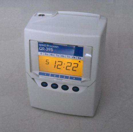 SEIKO Zegar czasu pracy QR-395