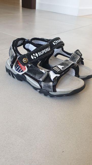 Buty sandały firmy Superga r. 29, dł. wkł. 18 cm Zalando,