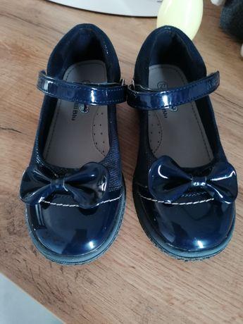 Granatowe buciki Nelli Blu