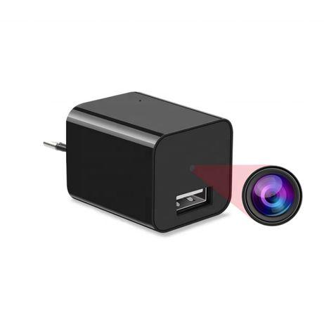 Kamera w zasilaczu ŁADOWARKA USB UKRYTA szpiegowska zasilacz