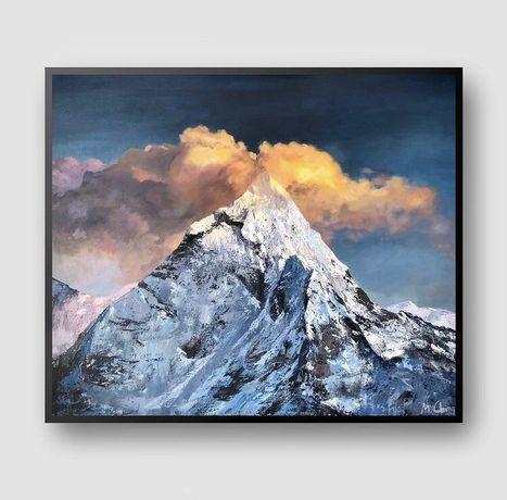 Картина маслом «Snow Mounth»