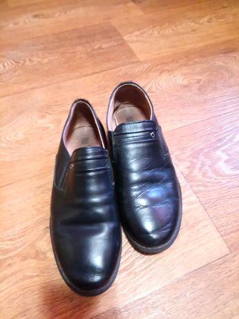 Шкіряні туфлі, розмір 36
