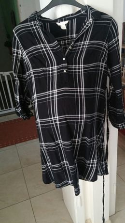 MAMA Koszula ciążowa w kratę H&M rozm S