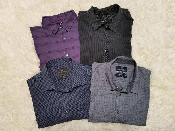 Продам отличные рубашки M&S,  Angelo Litrico, Smog, 4 шт, XL