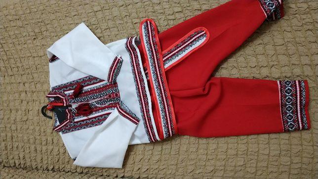 Украинский костюм на мальчика
