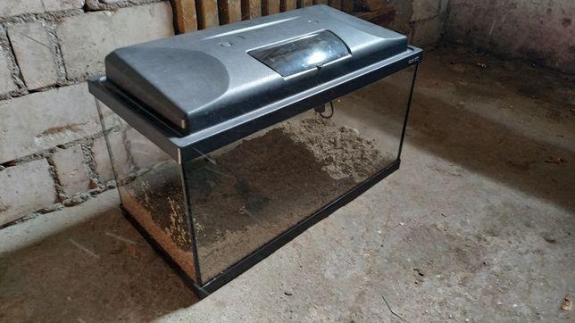 Akwarium 54L z pokrywą i oświetleniem LED