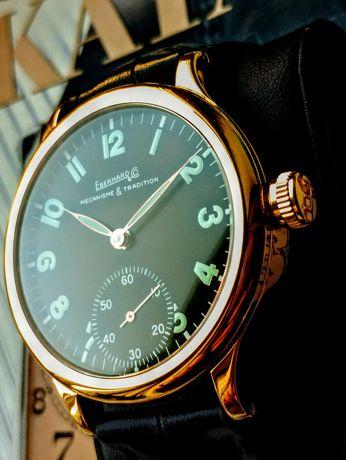 Золотые часы Eberhard 43 mm