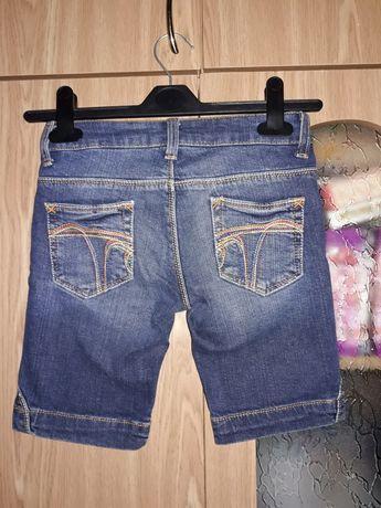 Шорты бриджи джинсовые Zara Kids 7-8лет