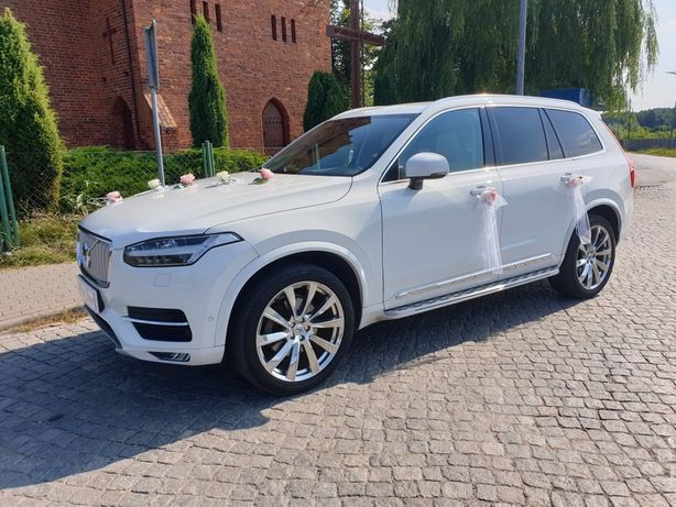 Volvo XC90 Inscription Polestar Suv samochód auto do ślubu