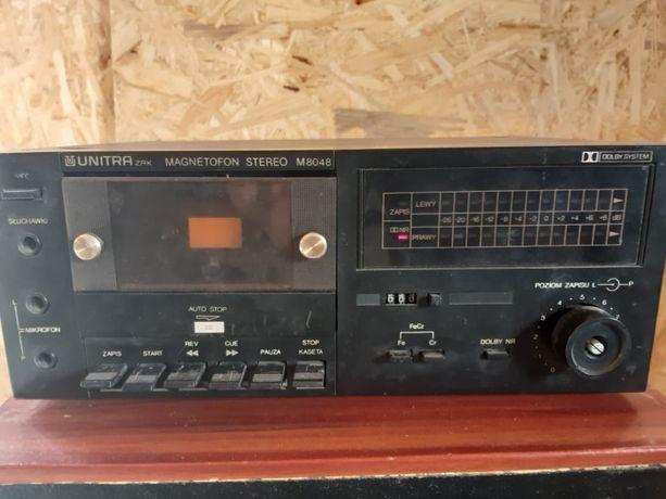 Sprzedam magnetofon deck unitra m8048